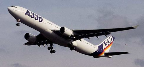 Airbus A330 in 1992