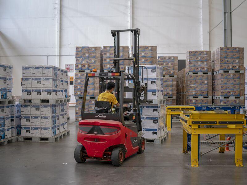 Logistics Base In Nanjing Prepares For 618 Shopping Festival