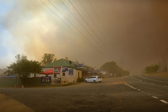 Wildfires Are Forcing Aussie Pension Funds to Be More Green