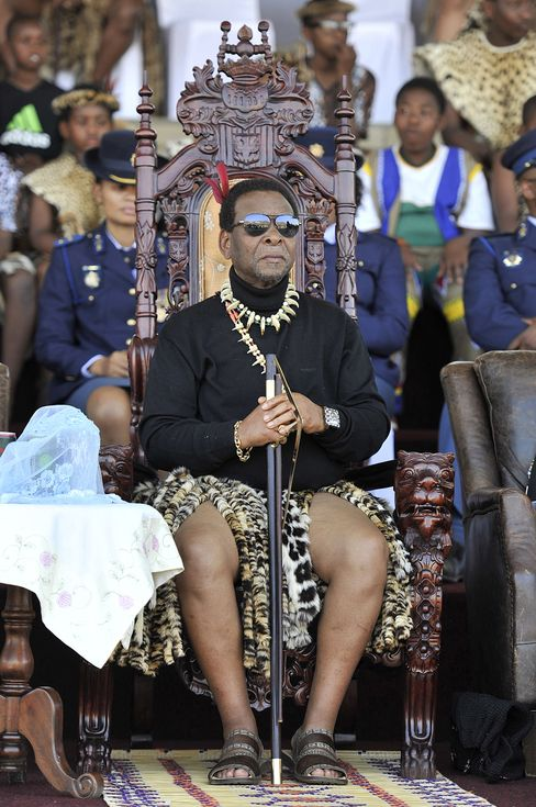 South African Zulu King Goodwill Zwelithini