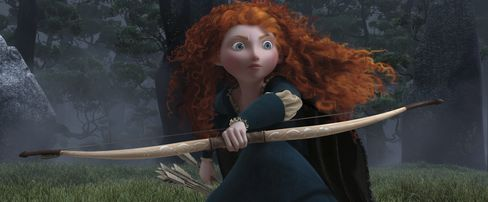 Pixar's 'Brave' Opens as No. 1 Movie With Sales of $66.7 Million