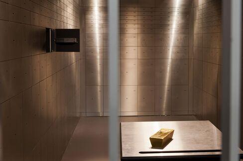 Gold Investors Seek Alpine Safe Haven in Swiss Army Bunkers