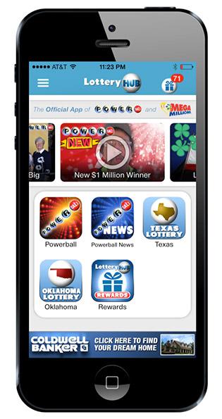 LotteryHub app