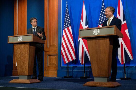 Blinken Pushes Back Against China as He Reaffirms U.K. Ties