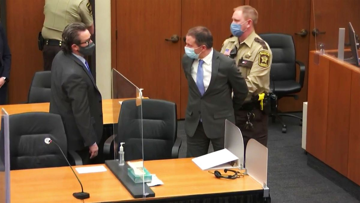 Former police officer Derek Chauvin convicted of the murder of George Floyd