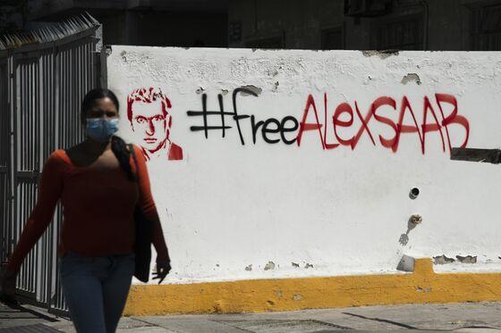 Graffiti Pops Up in Caracas Praising Maduro Financier Saab