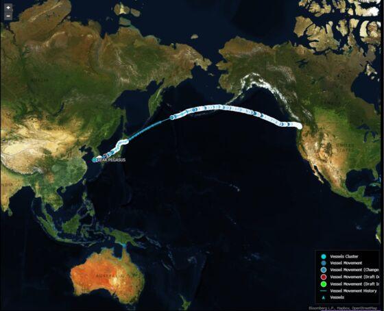 U.S. Soybean Cargo Races to Beat China Tariff