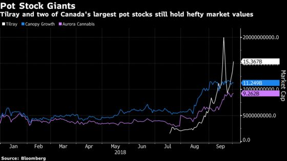 This Pot Stock Mania Isn't Even Close to Dying Out: Taking Stock