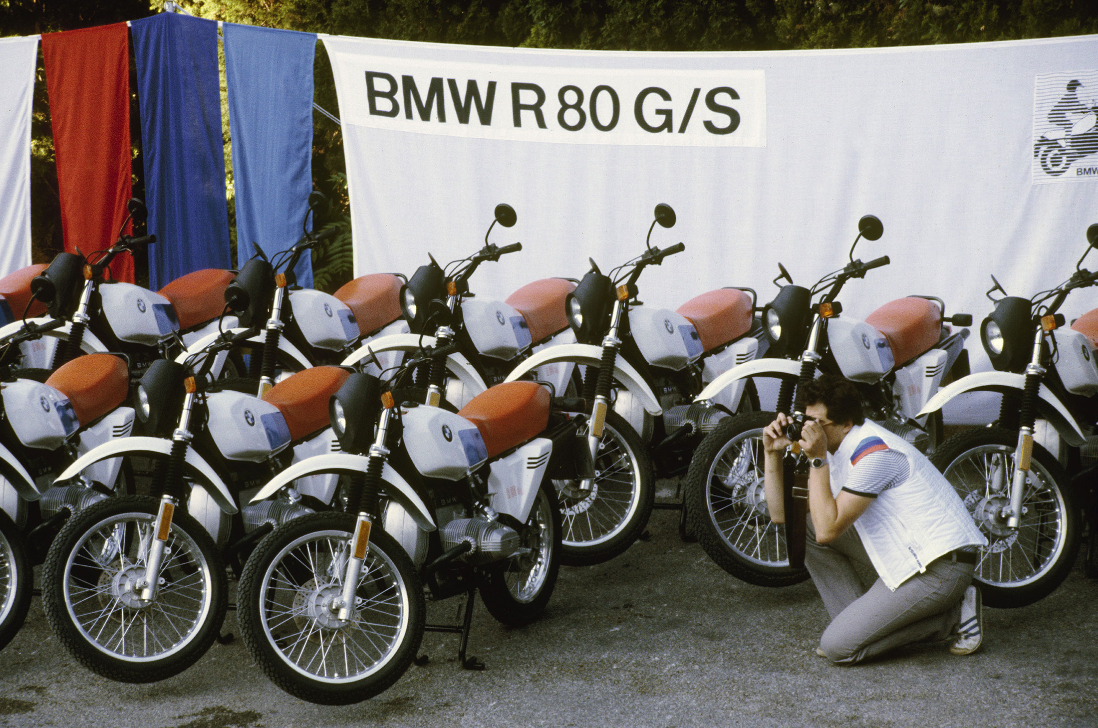 The BMW R80G/S