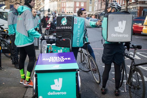 Amazon Buys Stake in Deliveroo, Pitting It Against Uber
