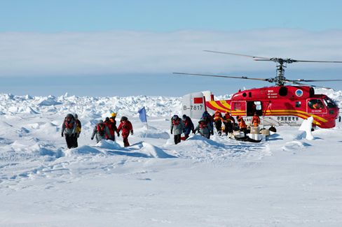 As China Goes Exploring, Antarctica Becomes Another Frontier