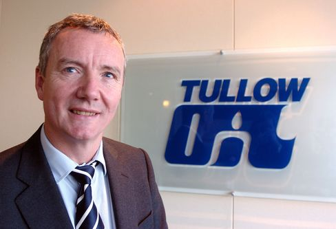 Tullow rose as much as 5.9 percent to 1,249 pence