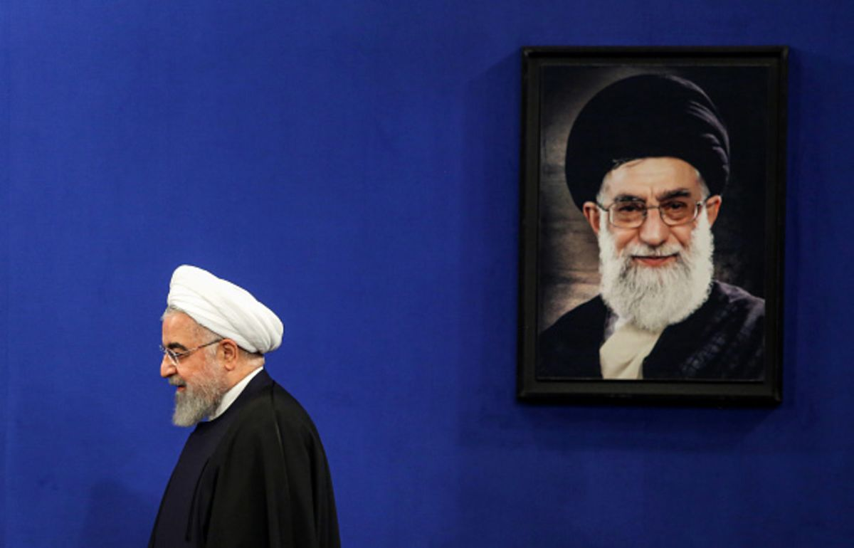Iran's 'Hard-Liner in Chief' Is Only Vote That Counts