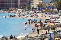 Heatwave Hits Malaga