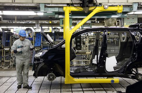 Japan Output Exceeds Estimates in Boost for Abe Revival Campaign