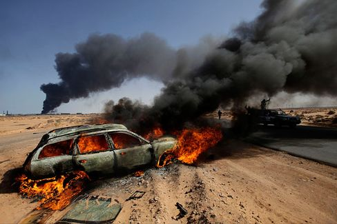 Libya's Oil Industry Is in Trouble