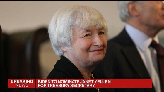 Biden Plans to Nominate Janet Yellen for Treasury Secretary