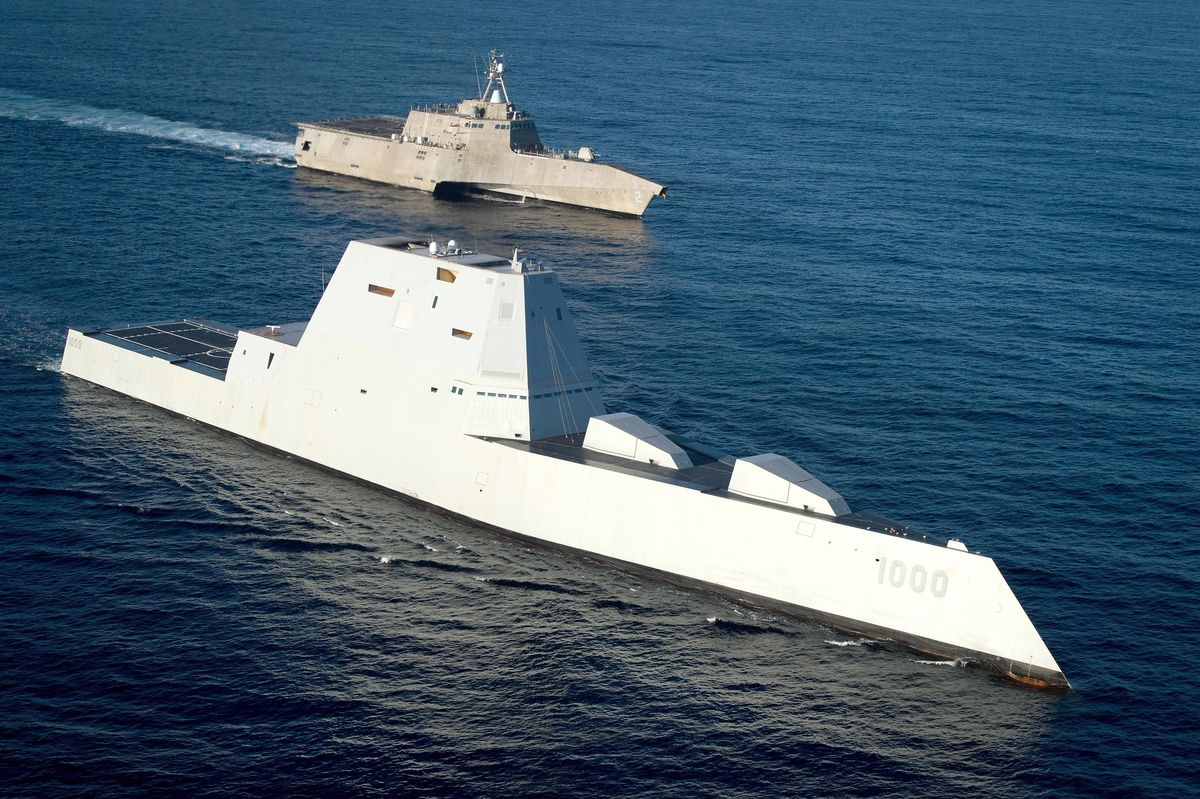 Navy's New $7.8 Billion Destroyer Is Now Running Six Years Late