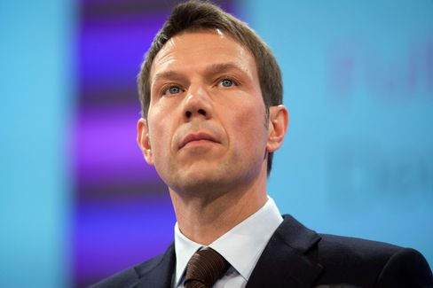 Deutsche Telekom Chief Executive Officer Rene Obermann