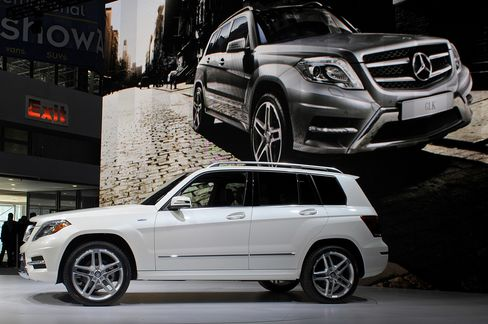 Mercedes Adds to U.S. Luxury Sales Lead Over BMW