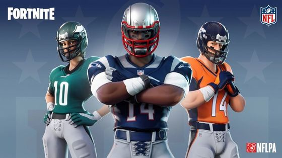 Fortnite Scores NFL Partnership With Deal for Virtual Jerseys