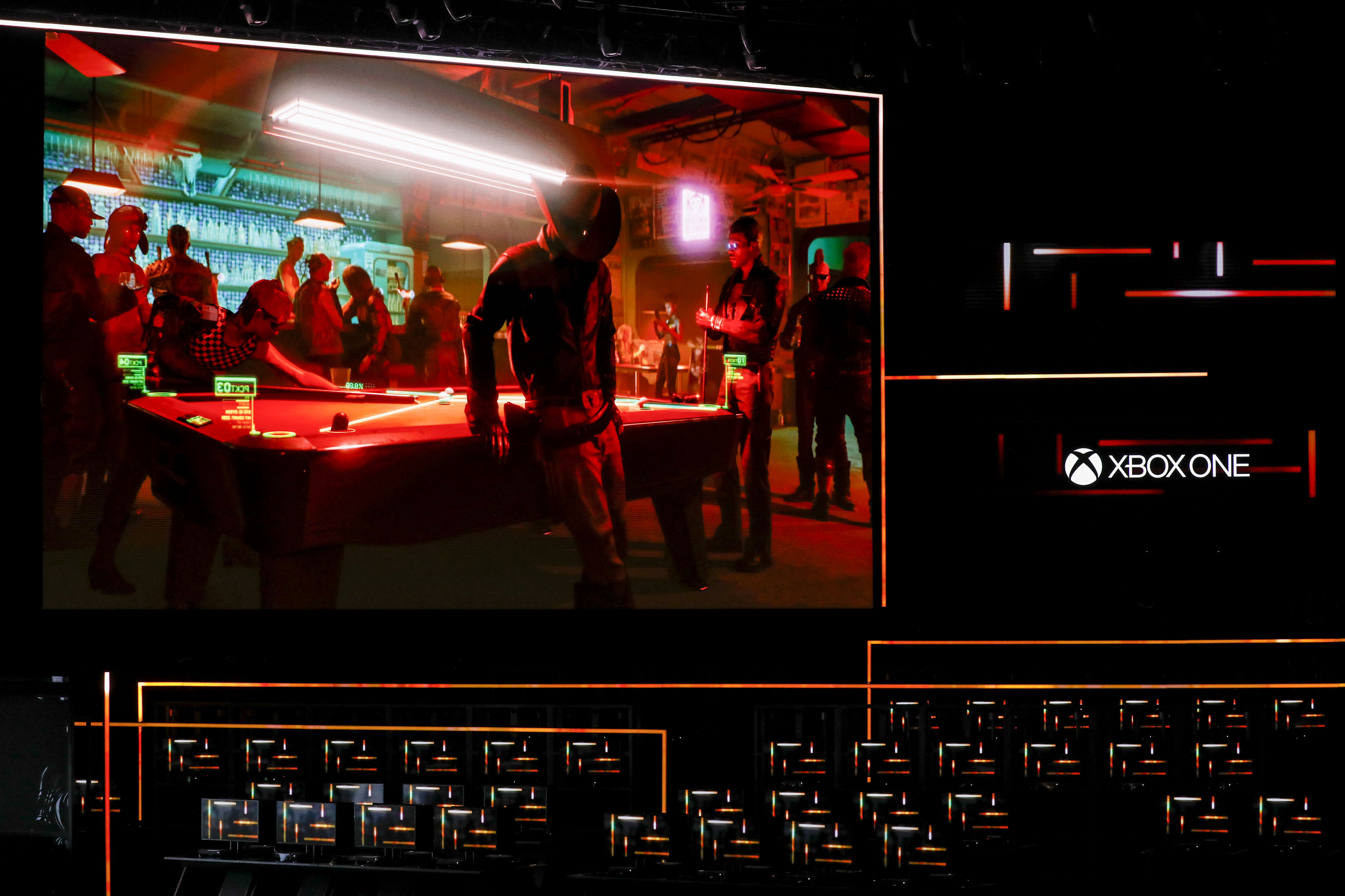 Událost Microsoft Corp.  Na Xbox E3 Electronic Entertainment Expo před rokem 2018