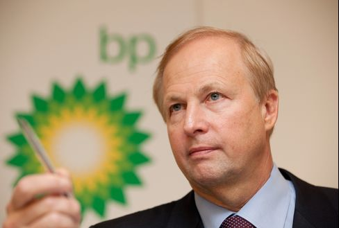 BP CEO Bob Dudley