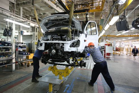 Vehicle Manufacture At Russia's Largest Truck Maker GAZ Group