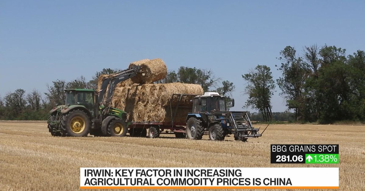 bloomberg.com - China Is The Driver of Agricultural Prices Rising: Scott Irwin