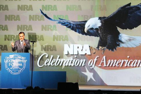 Can Romney Shoot Straight on Guns?