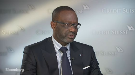 Credit Suisse CEO Thiam Sees Investment Bank Loss Weigh on Results