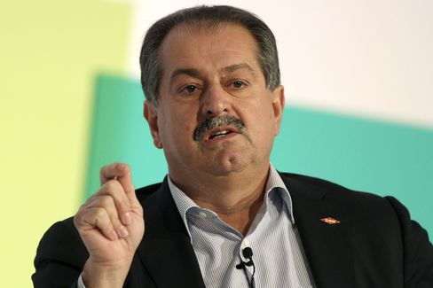 Dow Chemical Co. Chief Executive Officer Andrew Liveris