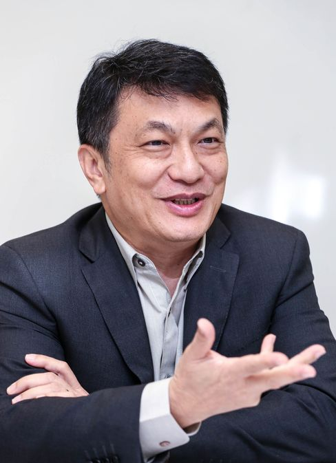 Surapong Laoha-Unya, chief executive officer of Bangkok Mass Transit System.