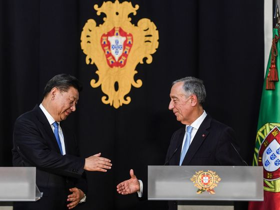 China's Xi Targets Increased Economic Ties With Portugal