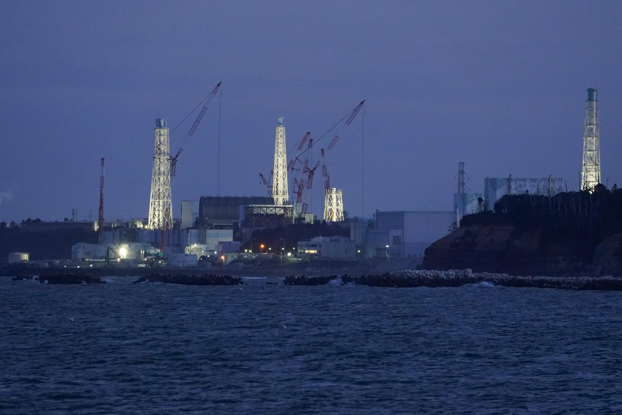 The Fukushima Dai-Ichi nuclear power plant.