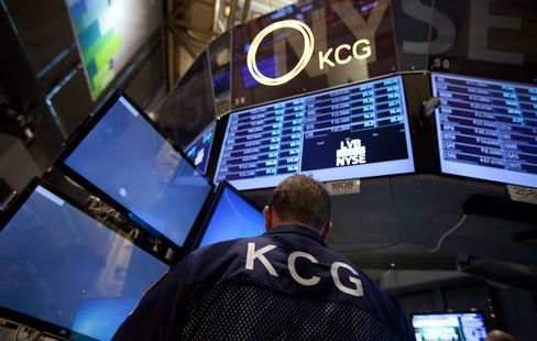 KCG Trader at The New York Stock Exchange