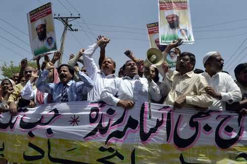 Pakistan Protests Over Bin Laden Show Limits of His Support