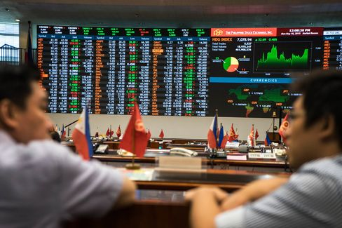 Images From The Philippine Stock Exchange And Manila's Financial District As Nation's Securities Regulator Cracks Down On Market Manipulation