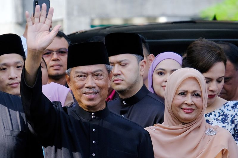Malaysia King Names Muhyiddin as Premier to Succeed Mahathir