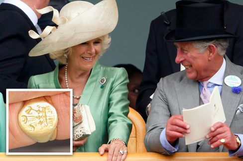 Camilla, Duchess of Cornwall and Prince Charles, Prince of Wales both wear their signet rings on their left hand.