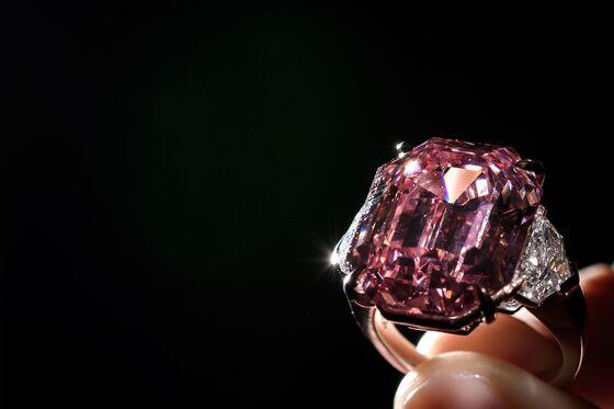 Pink Diamond Sets Record as Harry Winston Wins Gem at Christie's