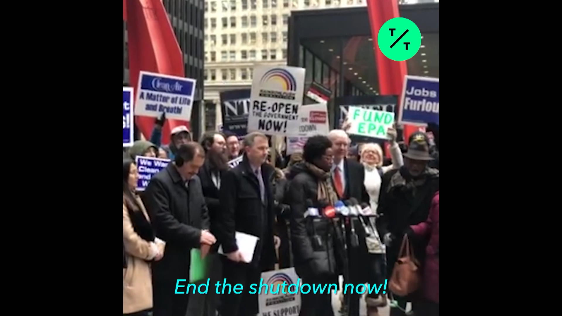 Rep. Underwood on the shutdown