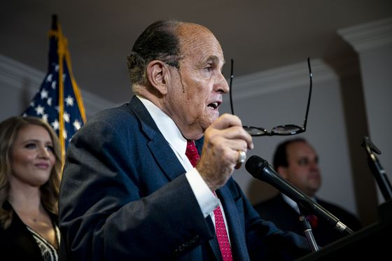 Giuliani's Messages With Fox Sought by Dominion in Election Suit