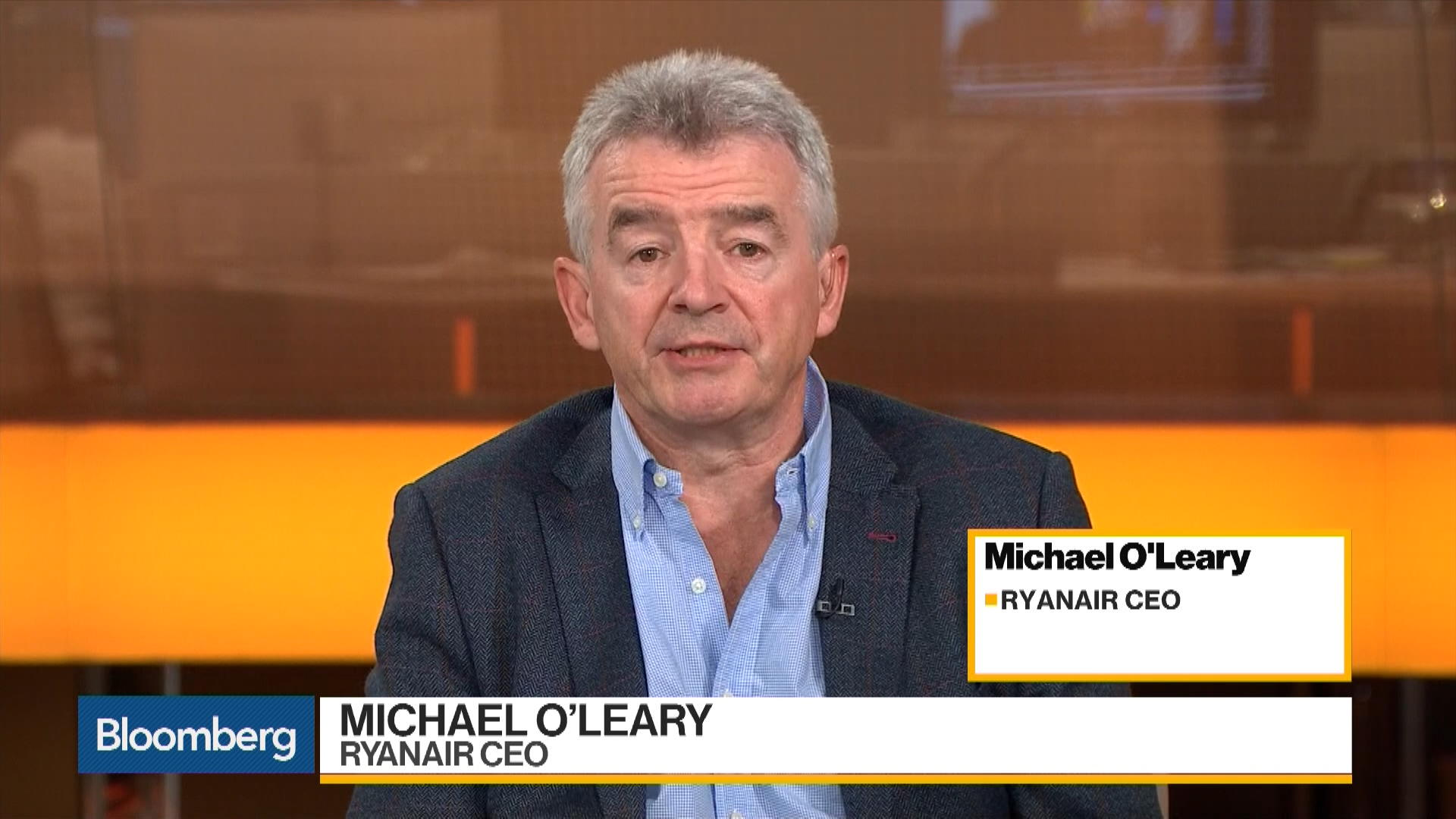 O'Leary discusses earnings oil prices expansion merger plans and Brexit