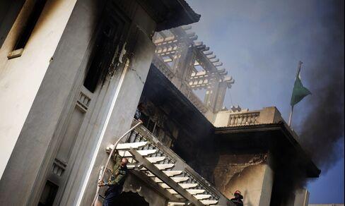 Violence Convulses Egypt as Toll Rises, U.S. Calls Off War Games