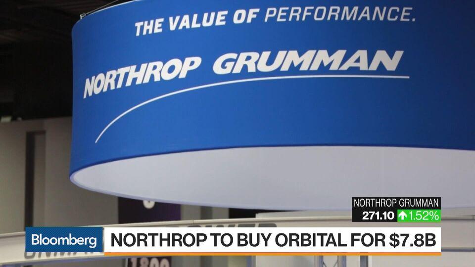 Northrop bulks up missile business on 78 billion orbital deal northrop bulks up missile business on 78 billion orbital deal bloomberg reheart Images