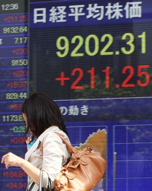 Most Asian Stocks Rise on Profits