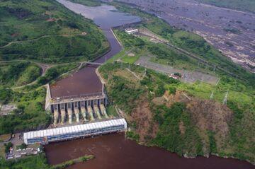 DRCONGO-SAFRICA-ENERGY-HYDRO