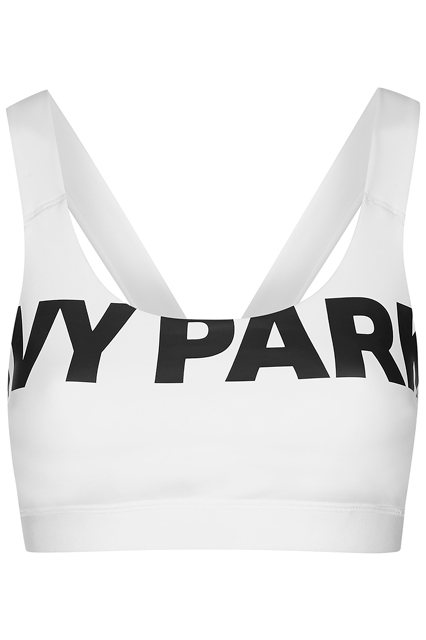 A $35 Ivy Park logo sports bra.