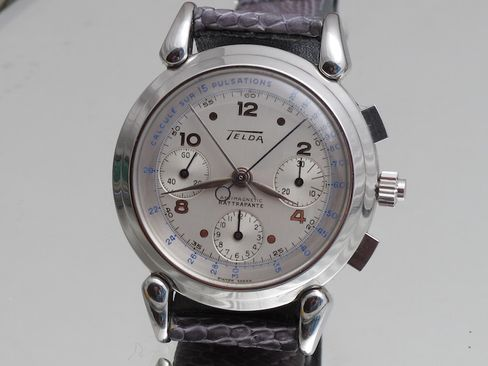 This Telda chronograph is a look at watchmaking's strange history.